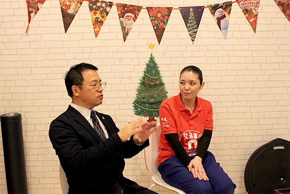 田里麻季院長インタビュー