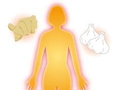 あったか食べ物と代謝による熱