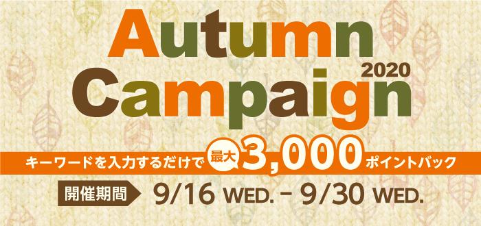 オータムキャンペーン2020