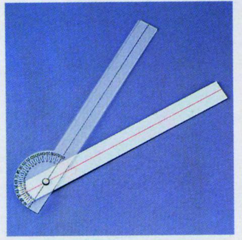 プラスティック角度計