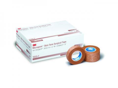 マイクロポアサージカルテープ スキントーン不織布サージカルテープ(3M)