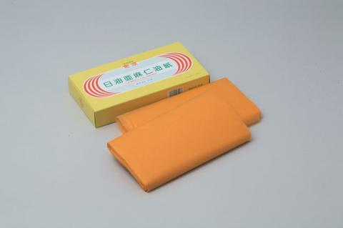 日油亜麻仁油紙