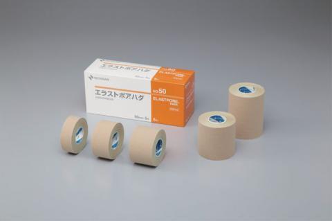エラストポア ハダ 粘着性布伸縮包帯(ニチバン)