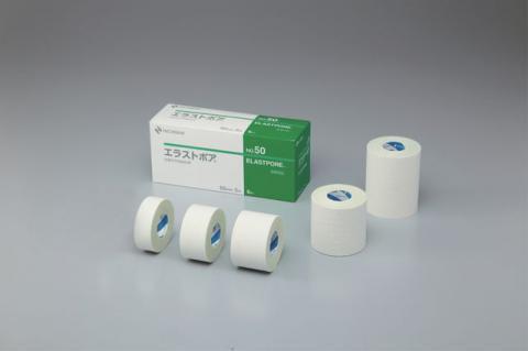 エラストポア 粘着性布伸縮包帯(ニチバン)