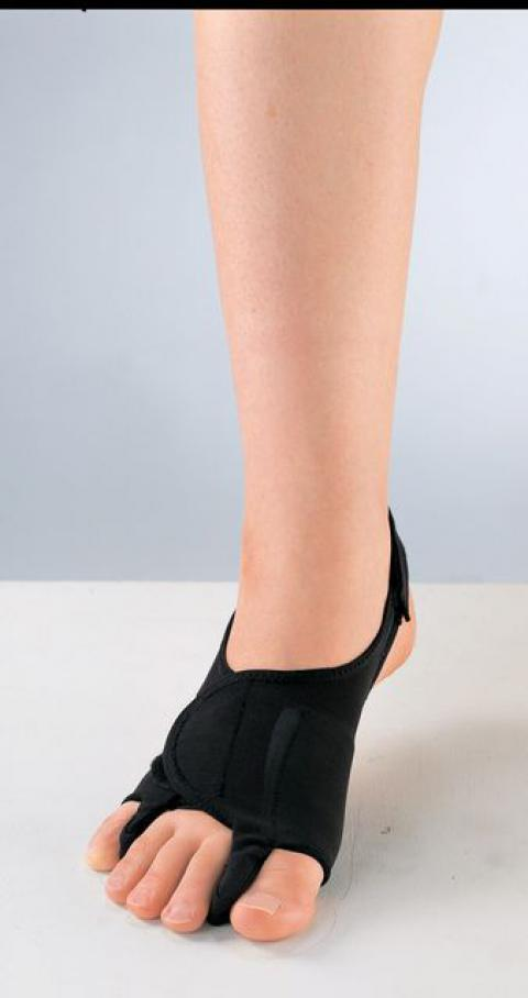外反母趾・内反小趾サポーター パワーメッシュ(固定型) 足部サポーター(ソルボ)