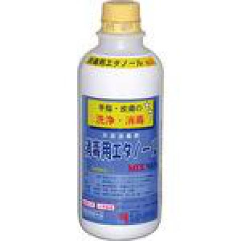 消毒用エタノールMIX 500ml(兼一薬品)<注文4本単位>