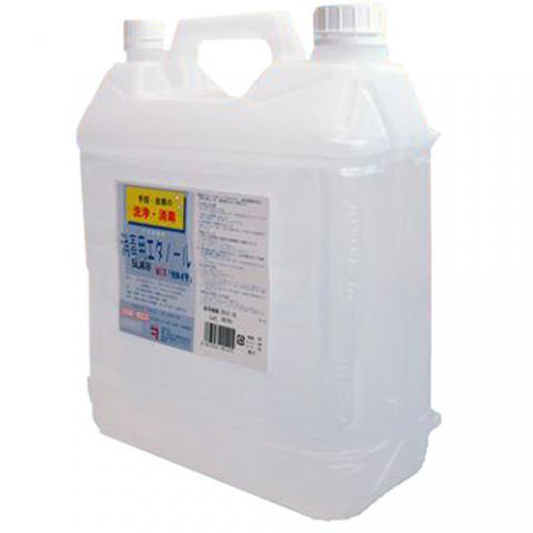 消毒用エタノールMIX 5L(兼一薬品)<注文1ケース3本単位>