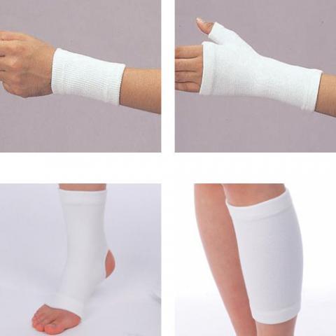 フィットサポーター(保温用サポーター) 保温機能手首手の平足首ふくらはぎ肘膝もも膝ロングサポーター(bonbone)