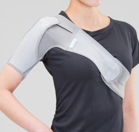 メッシュアップショルダー 滑り止めズレ防止非伸縮肩関節サポーター(bonbone)
