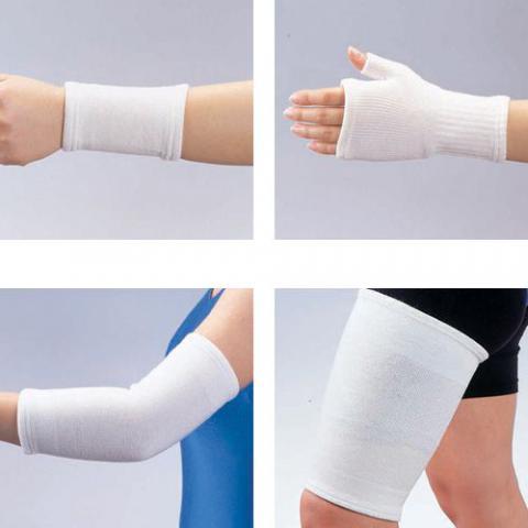シームレスウールブレンドサポーター 保温機能手首手の平ふくらはぎ肘膝もも肩両肩サポーター(bonbone)