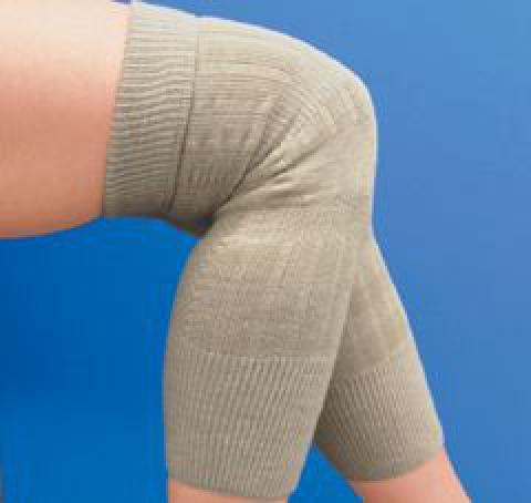 暖かWひざ用関節サポーター 保温膝サポーター(砂山靴下)