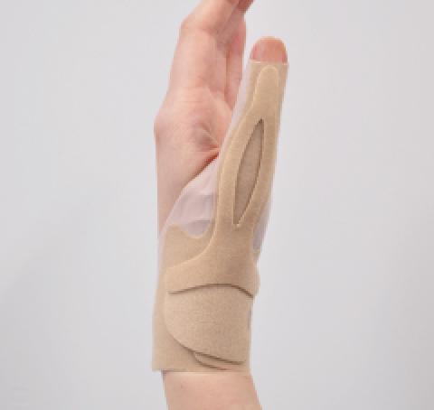 bonboneオープンサムフラット 滑り止めズレ防止親指手首サポーター(bonbone)