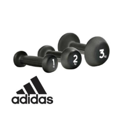 adidas ネオプレンダンベル トレーニング用品ウエイト