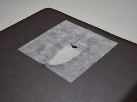 ピローシート SP(十字カット)100枚 ホワイト