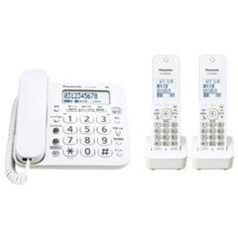 パナソニック デジタルコードレス電話機(子機2台タイプ) VE-GD240DWE3