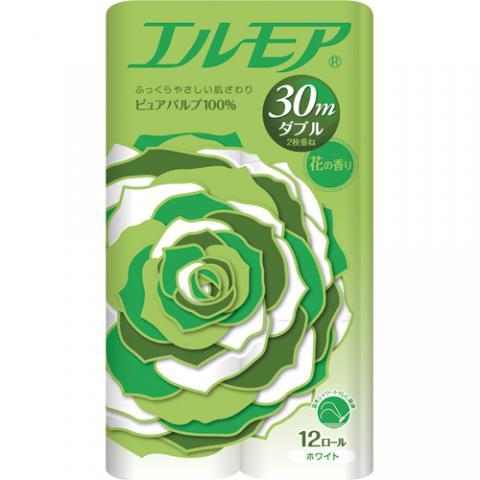 エルモア 花の香り ダブル 30m 12ロール