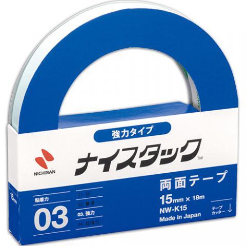 ナイスタック 強力タイプ 両面テープ 15mm×18m