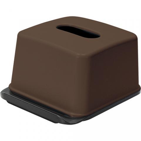 ハーフティッシュボックス ブラウン