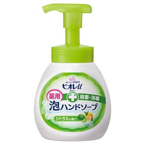 ビオレu 泡ハンドソープ シトラスの香り ポンプ 250ml