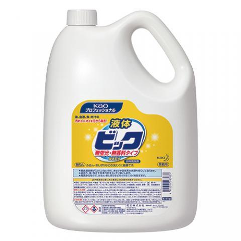 液体ビック 無蛍光・無香料タイプ 4.5kg