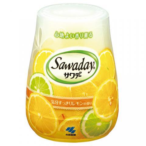 サワデー 気分スッキリレモンの香り 本体 140g