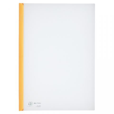 スライドバーファイル A4タテ 20枚収容 黄 10冊