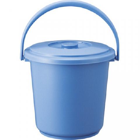 PPバケツ(本体のみ) ブルー 13L