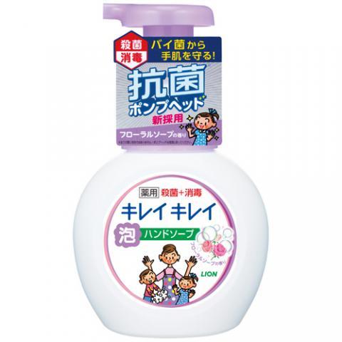 キレイキレイ 薬用泡ハンドソープ フローラルソープの香り 本体 250ml