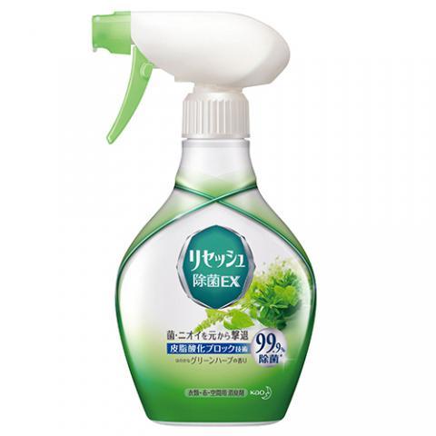 リセッシュ 除菌EX グリーンハーブの香り 本体 370ml