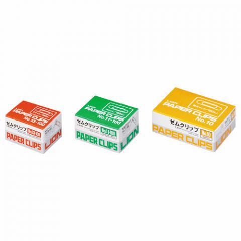 ゼムクリップ大 紙箱100本入 #11-100