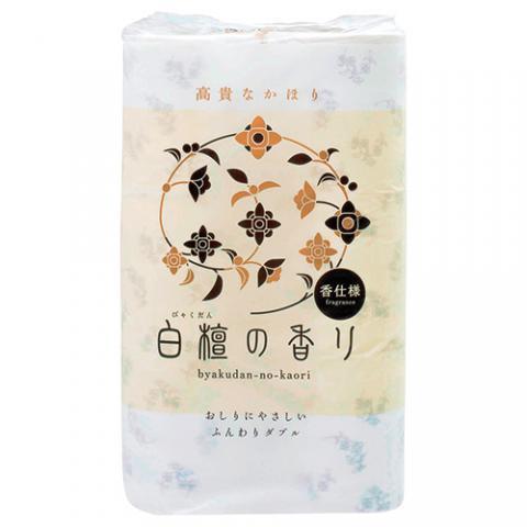 トイレットペーパー 白檀の香り 30mダブル 12ロール
