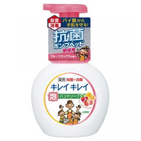 キレイキレイ 薬用 泡ハンドソープ フルーツミックスの香り 本体 250ml