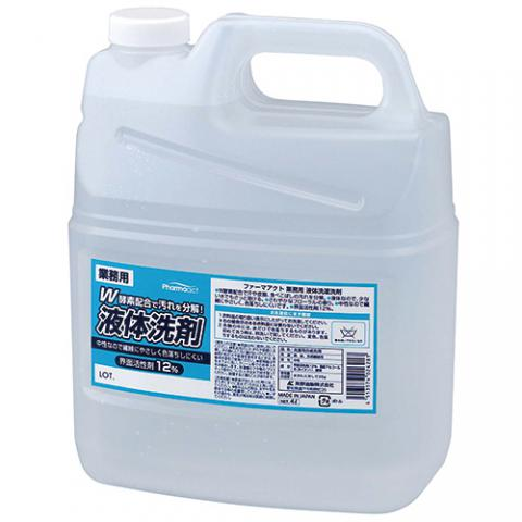 ファーマアクト 業務用液体洗濯洗剤 4L