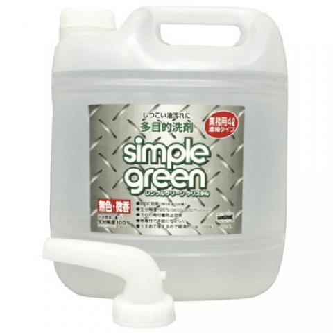 シンプルグリーンクリスタル4L詰替用 SGC4L