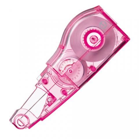 修正テープ ホワイパーミニローラー 交換テープ 4.2mm幅×6m ピンク