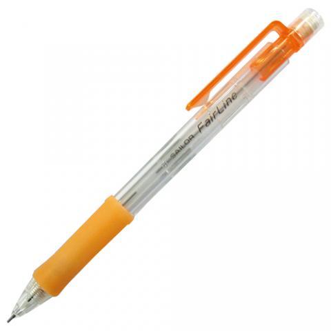 再生工場 フェアライン シャープペンシル 0.5mm 軸色(オレンジ)