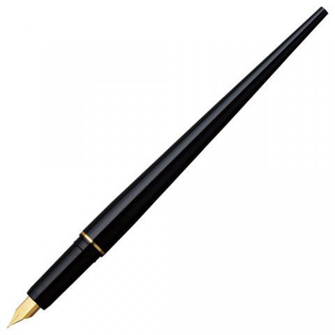 デスクペン万年筆 ブラック