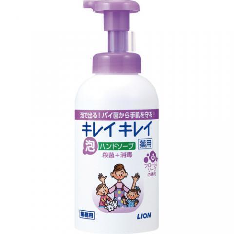 キレイキレイ 薬用 泡ハンドソープ フローラルソープの香り 業務用 550ml 12本