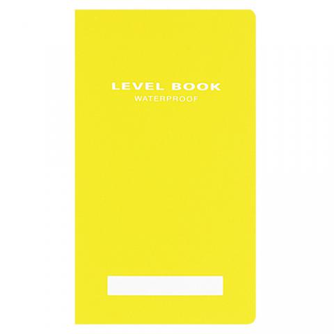 測量野帳 ブライトカラー レベル 黄 30枚