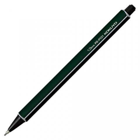 鉛筆シャープ 1.3mm 軸色(ダークグリーン)