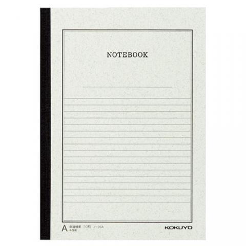 事務用ノート(ノートブック事務用)(セミB5)A罫50枚 10冊