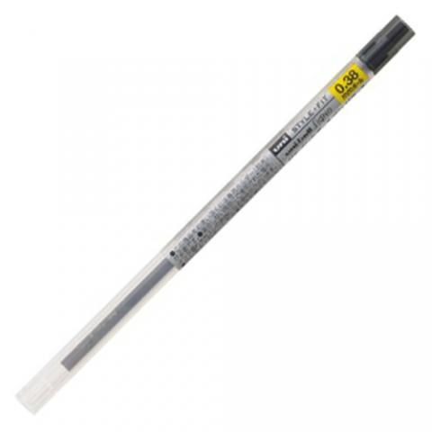 三菱鉛筆 スタイルフィット用替芯 0.38mm 黒 10本入