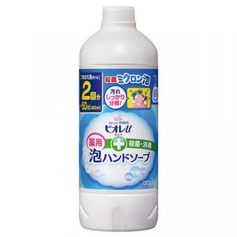 ビオレu 泡デ出テクルハンドソープ 詰替用 450ml 24個