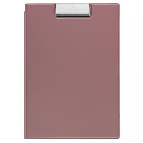 クリップホルダー(カバー付用箋挟) A4 ピンク