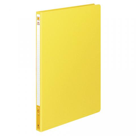 ロングレバーファイル(Z式) 色厚板紙 A4タテ 120枚収容 黄