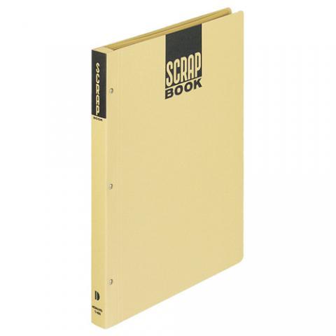 スクラップブックD(とじコミ式) A4 28枚 クラフト