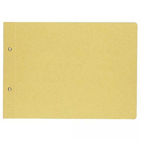 綴込表紙C B5ヨコ 2穴 クラフトタイプ 20冊(40枚入)