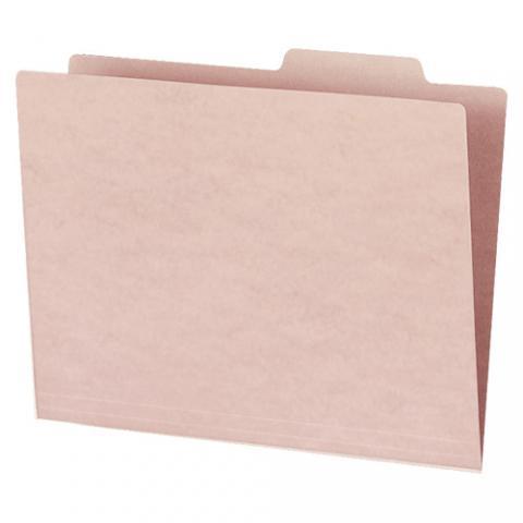 個別フォルダーカラー(薄型タイプ) A4 ピンク 10冊入