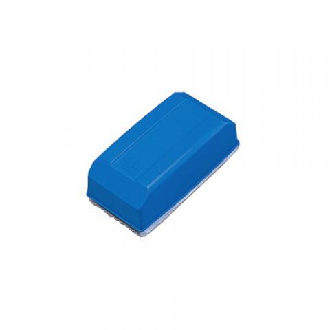 ホワイトボード用イレーザー 中 青