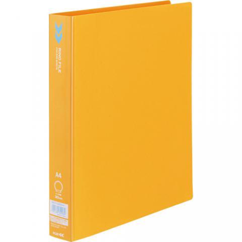 リングファイル<K2> A4タテ リング内径30mm オレンジ